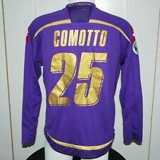 Maglia Fiorentina Comotto Match Worn Indossata vs Chievo 2009/10 Tim Cup Size L