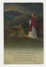 When I Survey The Wondrous Cross (1) Bamforth Postcard, B350