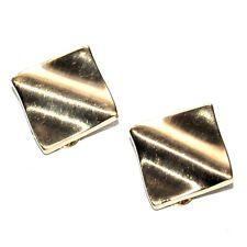 PIERRE LANG Boucles d'oreilles clip couleur or bijou earring A2