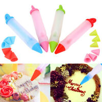 Food Grade Mold Icing Piping Pastry Nozzle Silicone Cake Pen Dessert Decorator
