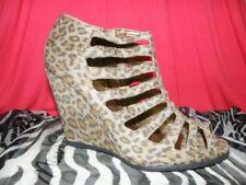 Animal Print Narrow Width (AA, N) Synthetic Heels for Women