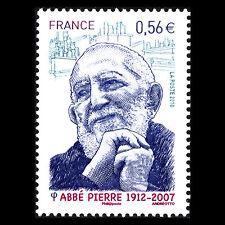 France 2010 - Death of Abbé Pierre 1912-2007 Priest - Sc 3756 MNH