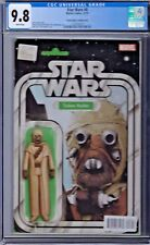 Star Wars # 8 Action Figure Variant Cover Cgc 9.8 Marvel 2015