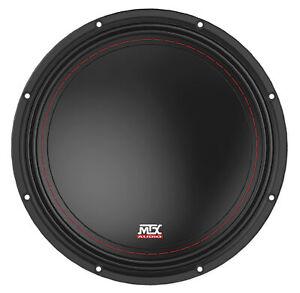 "MTX 3510-04 10"" 500 Watt Peak/250 Watt RMS SVC 4-ohm Car Audio Subwoofer Sub"