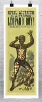 Leopard Boy Antique Freak Show Poster Canvas Giclee Print 17x42 in.