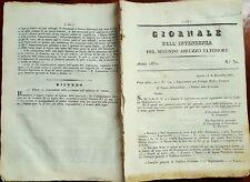 3298-GIORNALE DELL' INTENDENZA DEL SECONDO ABRUZZO ULTERIORE, ANNO 1850 N° 32