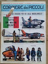 CORRIERE DEI PICCOLI N. 20 MAGGIO 1966 SOLDATINI EERCITO DA RITAGLIARE
