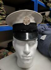 Genuine Royal Air Force RAF Police Ceremonial Dress Hat Peaked Cap Army UK