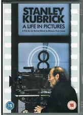 STANLEY KUBRICK A LIFE IN PICTURES DVD MOVIE FILM BRAND NEW UK COMPATIBLE R2