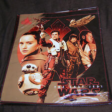 Star Wars Ep VIII: The Last Jedi LARGE tote bag with holographic side (Disney)