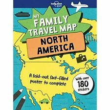 Family Travel Map - North America, My (Lonely Planet Ki - Paperback NEW Kids, Lo
