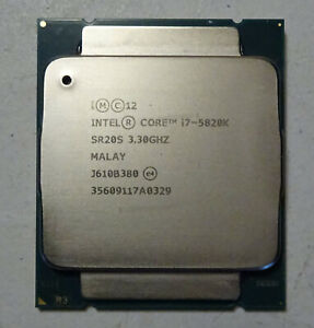 Intel Core i7-5820K 3.3GHz 6-Core CPU Processor - Tested and Works!