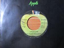 """7"""" BEATLES PAUL McCARTNEY & WINGS : JUNIORS FARM / SALLY G.  Vinyl Single 1974"""