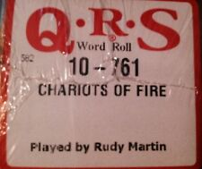 CHARIOTS OF FIRE   BRAND  NEW  PIANOLA PLAYER PIANO ROLL ROLL