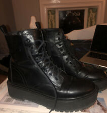 Jadon Top Shop Platform Boots Size 8 41 Martens Punk Goth Style