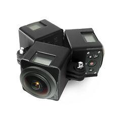 360 Degree Spherical Panorama Mount f. 3x Kodak PIXPRO sp360 4k Virtual Reality