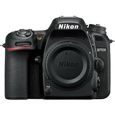 Nikon D7500 20.9MP DX 4K 8 fps CMOS DSLR - 3 Year Warranty