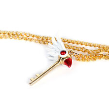 Card Captor Sakura Kinomoto Sakura Star Wand Necklace Pendant Key Chain Gifts