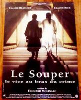 Le souper - Claude RICH / Claude BRASSEUR - Affiche Cinéma (40x60)