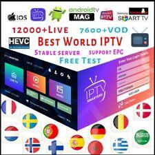12 Monate Smart IPTV, Android, IOS, M3u, Mag, IPTV Smarters. Über 12000+ Kanäle