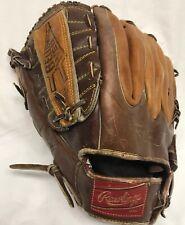 Rare Rawlings Gj27 Joe Rudi 13� Bellows Web Softball Glove Left Hand Throw Lefty