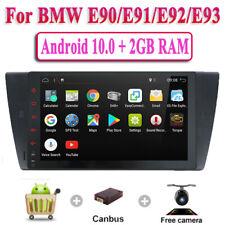 """For BMW E90/E91/E92/E93 9"""" Android 10.0 Car GPS NAVI SAT Radio USB 4G Wifi OBD2"""