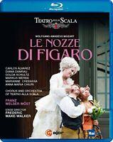 Mozart: Le nozze di Figaro  [Carlos Álvarez; Diana Damrau; Golda [DVD]