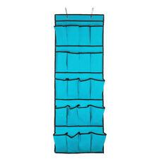 Solutions de rangement bleu sans marque en tissu pour la maison