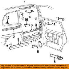 FORD OEM 95-98 Windstar Side Sliding Door-Shield F58Z1626562A