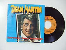 """Dean Martin – Everybody Loves Somebody - Disco Vinile 45 7"""" Stampa ITALIA 1981"""