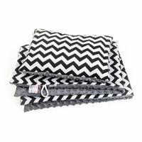 Baby Blanket Newborn Pod Swaddle Wrap Blanket Pillow Set Zig Zag Infant Blanket