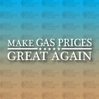 """Make GAS PRICES Great Again Funny MAGA Trump Vote Election 8"""" Custom Vinyl Decal"""
