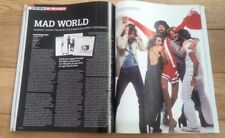 FLEETWOOD MAC 'mad world' 2004 UK ARTICLE / clipping