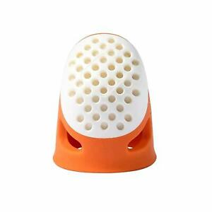 Small S Ergonomic Thimble Orange Sewing Quilting Patchwork Comfy  Prym 431135