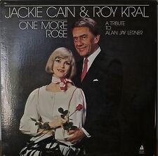 JACKIE CAIN & ROY KRAL: One More Rose-NM1987LP Tribute to ALAN JAY LERNER