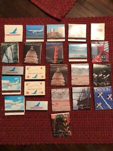 Piedmont Airlines Lot Of Matches Match Books