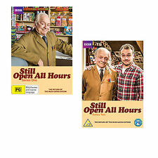 Still Open all Hours Series 1 & 2 + 2013 Christmas Special DVD R4 New Sealed