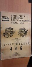 FOMOCO - moteur Ford diesel 4 & 6 cylindres 590E 592E Clayson : catalogue pièces