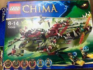 Lego® Legends of Chima 70006 Craggers Croc Boot Zentrale (Schiff) Anleitung DE