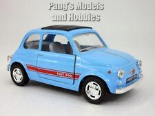 Classic Fiat 500 1/24 Scale Diecast Model by Kinsmart - LIGHT BLUE