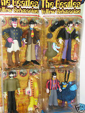"The  Beatles  Yellow Submarine   8""inch 1999 action figure's {vintage 1st run}"