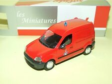 RENAULT KANGOO 1998 Paris POMPIERS SOLIDO Boite Carton