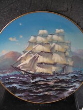 1981 Franklin Porc The Great Clipper Ships CHALLENGE Prance Ltd Ed Plate