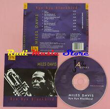 CD MILES DAVIS Bye bye blackbird 1999 italy JAZZ AROUND JAR 972-2(Xs5) lp mc dvd