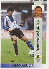 N°293 FRANCISCO JOSE ANTON HERCULES CF CROMO STICKER PANINI LIGA 1997