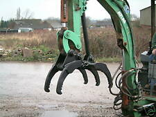 1 to 2ton mini digger grapple for all makes and models JCB kubota etc