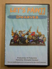 How to Paint Miniatures DVD Volume 16 Dwarves