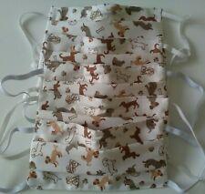 Masque Lavable avec filtre,masque en tissu  motifs animaux, chiens, enfants