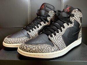 Nike Air Jordan 1 Retro High Un-Supreme Black Elephant EU 44 US 10