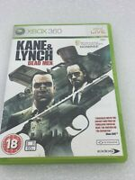 Kane And Lynch Dead Men Xbox 360 UK PAL Free UK Returns & P&P Tested GWO